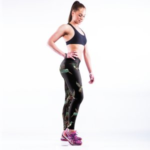 High Waist Tattoo Art Sport Yoga Fitness Leggings Pants