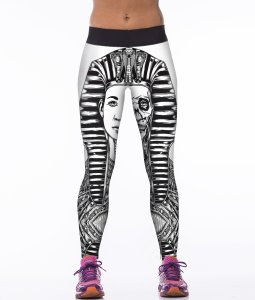 High Waist Pharaoh Gym Sport Yoga Fitness Leggings Pants