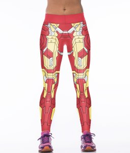 High Waist Transformers Sport Yoga Fitness Leggings Pants