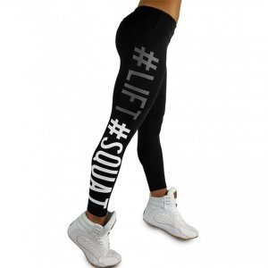 Lift Squad Black Leggings
