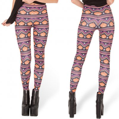 Pumpkin Smile Leggings