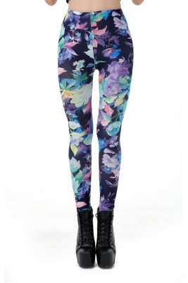 Dark Flower Leggings