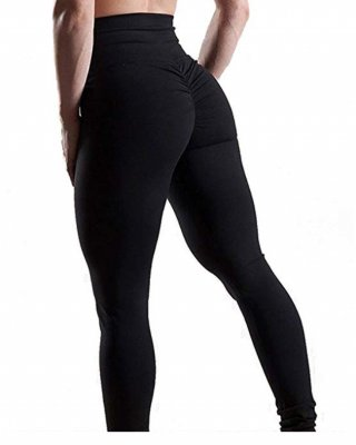 Comfortable leggings with high waist and scrunch butt