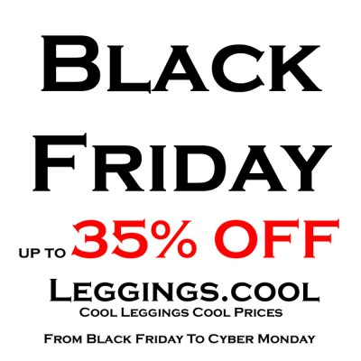 Black Friday to Cyber Monday 2018 up to 35% OFF