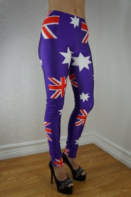 Flags Leggings