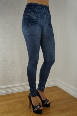 Blu Fake Pocket Leggings