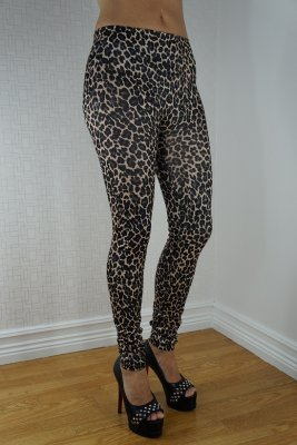 Dark Leopard Leggings