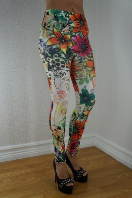 Big Flowers Leggings