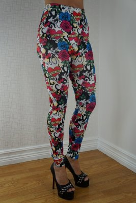 Love Me Rose Leggings