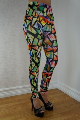 Rainbow Glass leggings