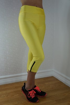 Neon Fluorescent Leggings Yellow