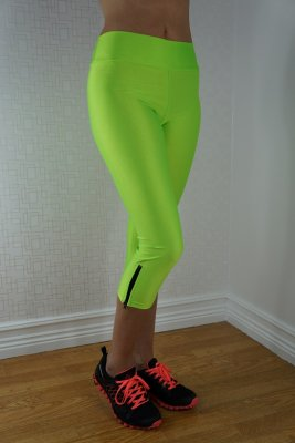 Neon Fluorescent Leggings Green